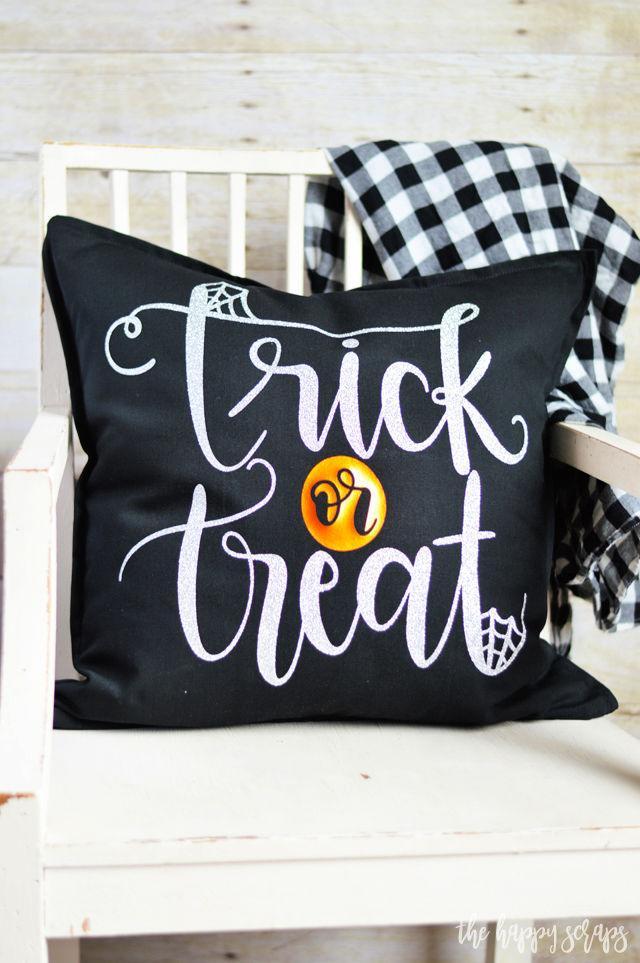 Trick or Treat Halloween Throw Pillows