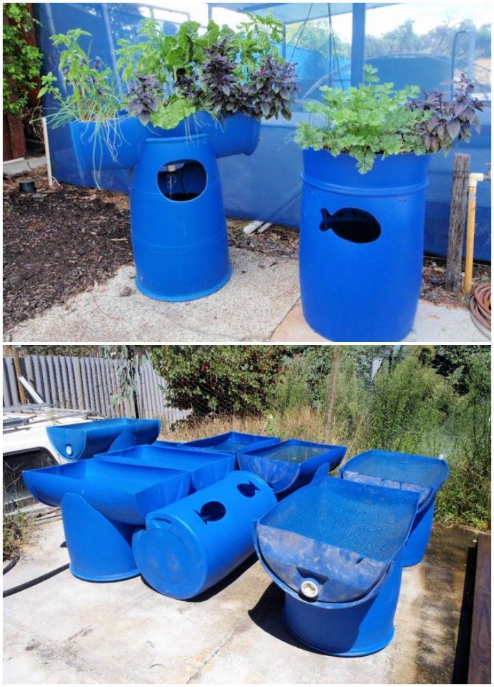 Barrel Aquaponic Systems