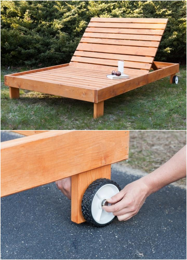 Make a Chaise Lounge Chair