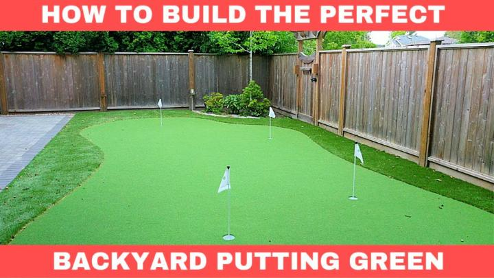 Build a Home Putting Green