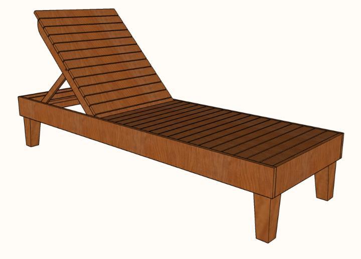 Chaise Lounge Chair Plan