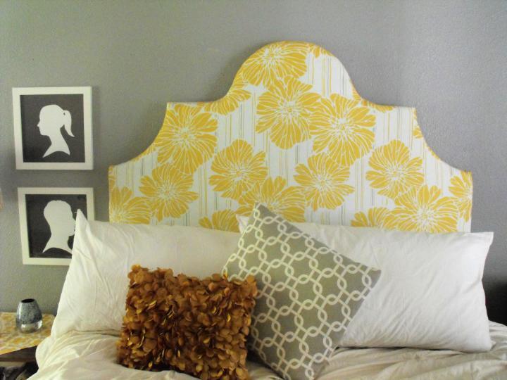 Cheap DIY Upholstered Headboard
