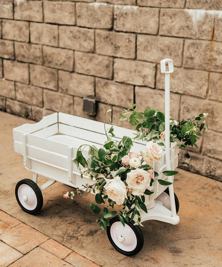 DIY All White Wagon In 5 Easy Steps