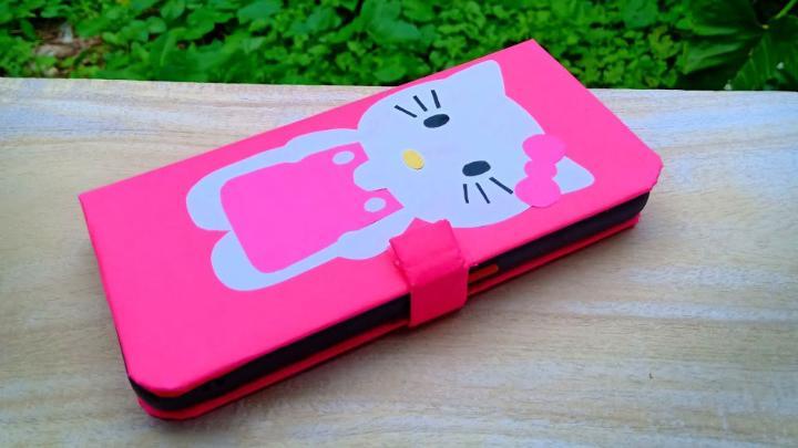 DIY Hello Kitty Kid Phone Case