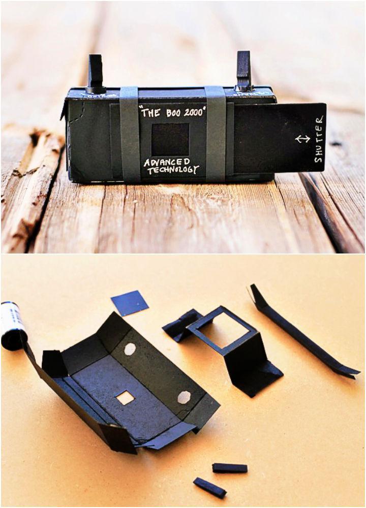 DIY Jello Box Pinhole Camera