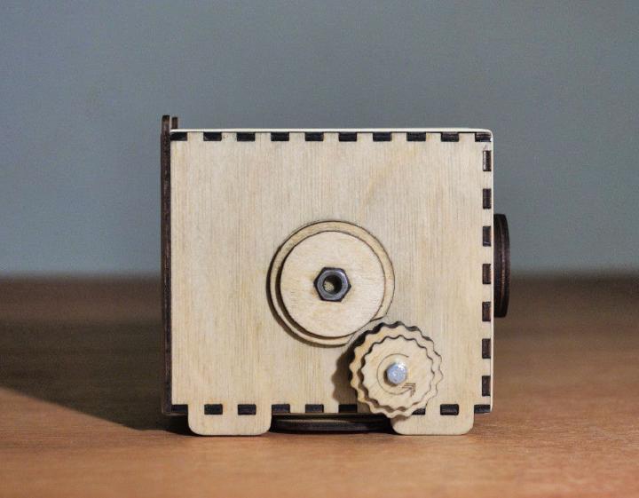 DIY Pinhole Box Camera