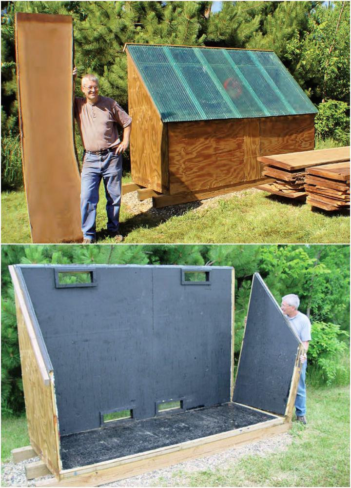 DIY Solar Kiln