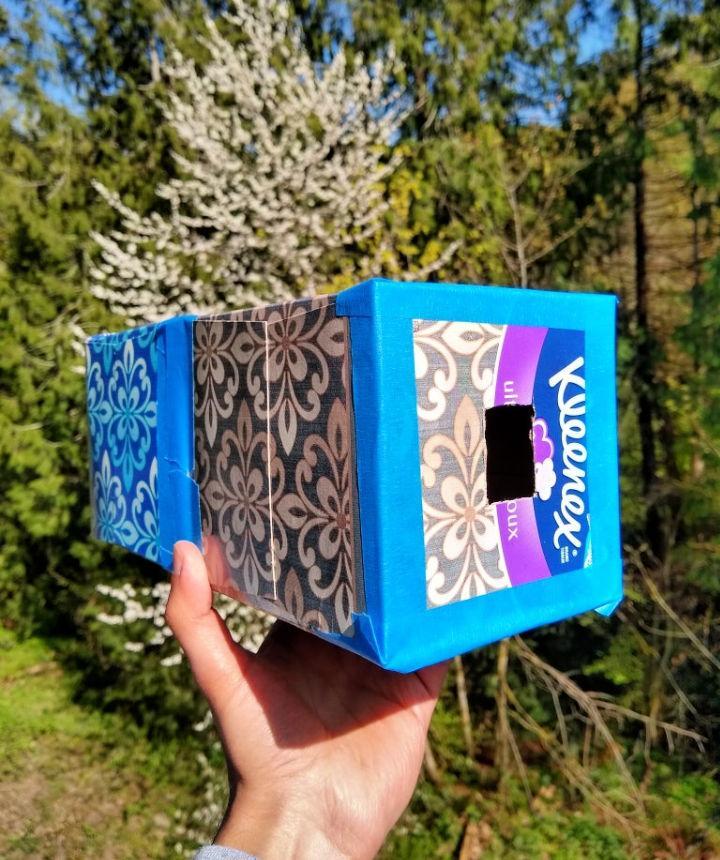 DIY Tissue Box Camera Obscura