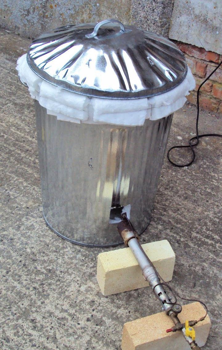 Dustbin Raku Kiln Tutorial