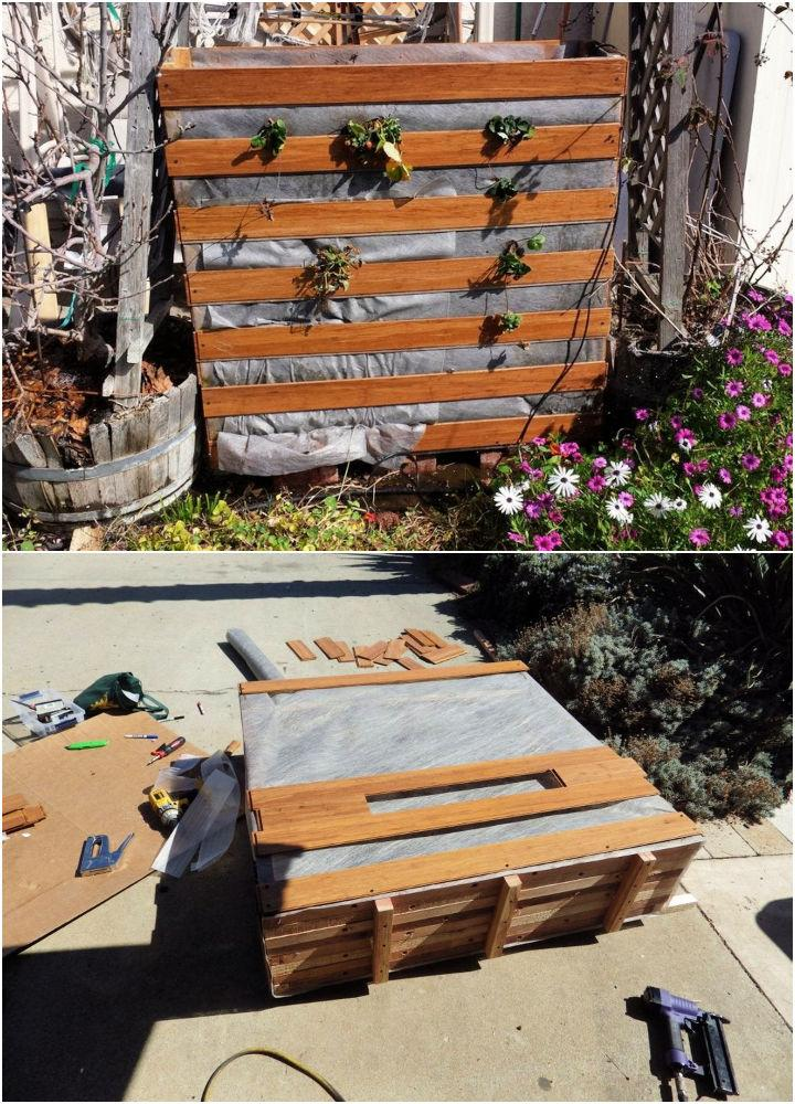 Easy DIY Vertical Strawberry Planter