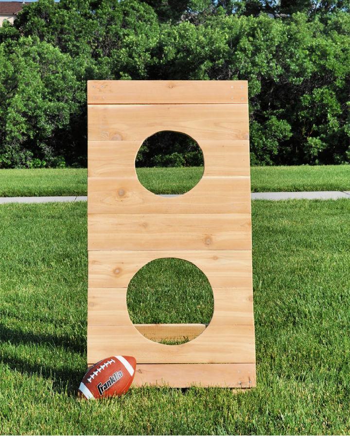 Football Toss Outdoor Game