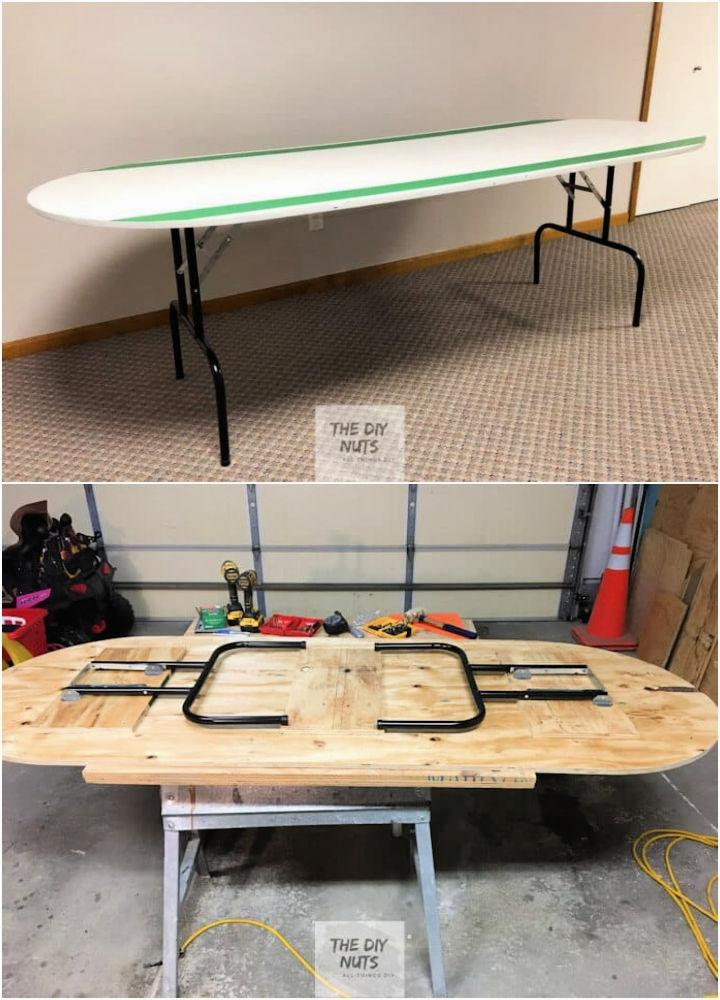 How To Build A Large Collapsible Table