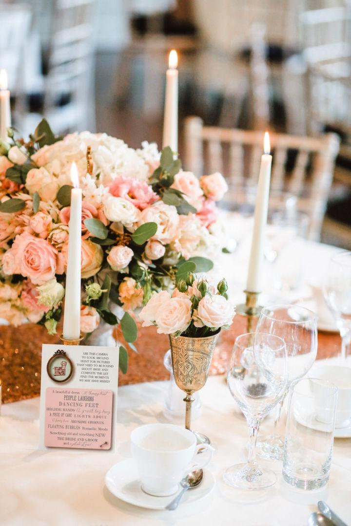 How To Decorate Your Wedding Table