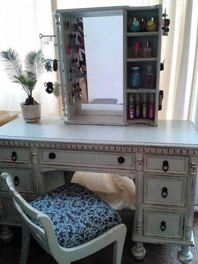 How To Turn A Dresser Into A Makeup Vanity
