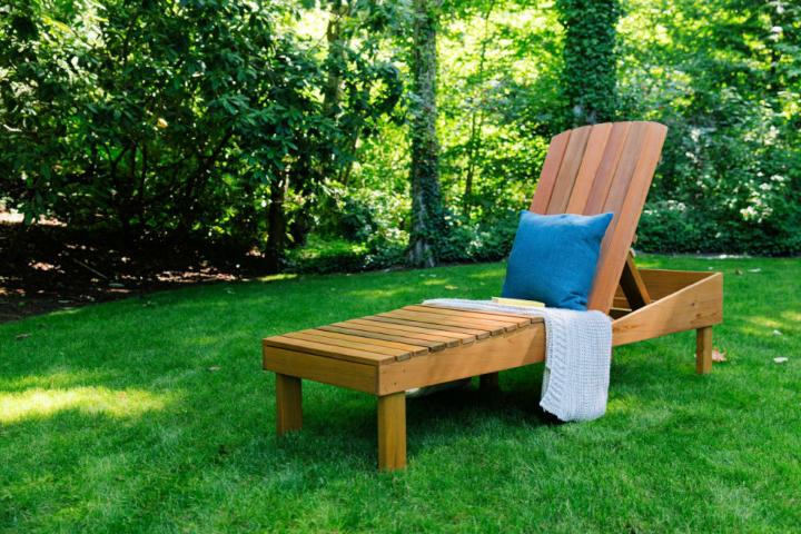 How to Build a Lounge Chair