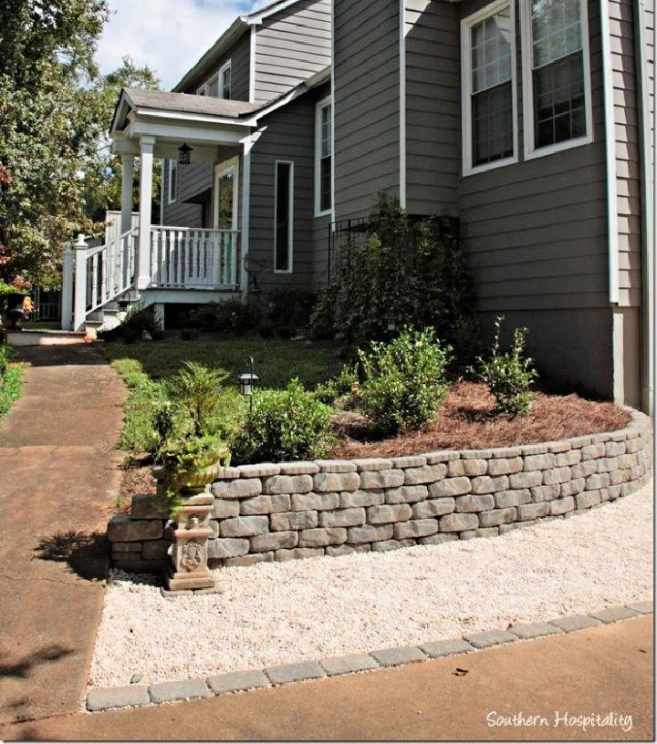 How to Make Your Own Retaining Wall
