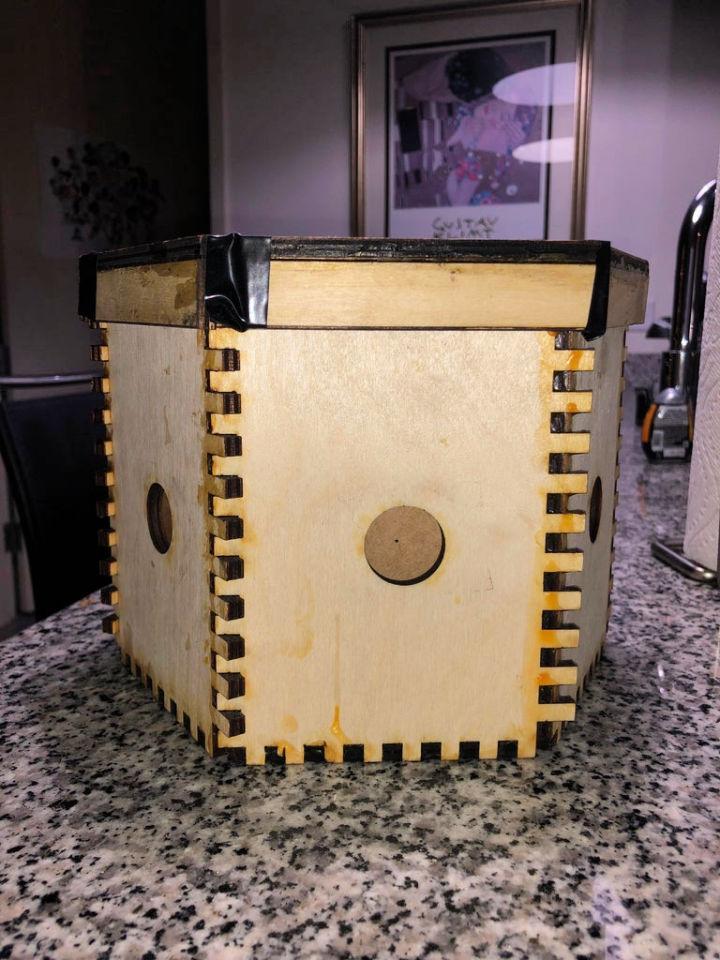 Laser Cut Pinhole Camera