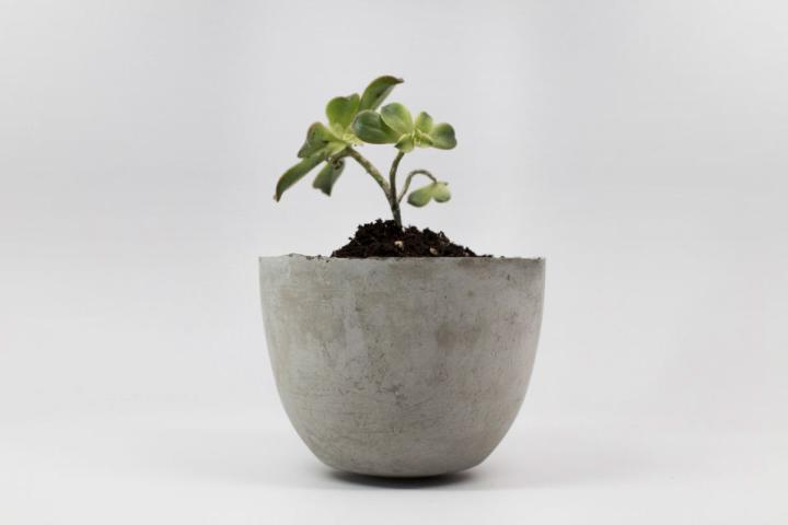 Lightweight Concrete Planter