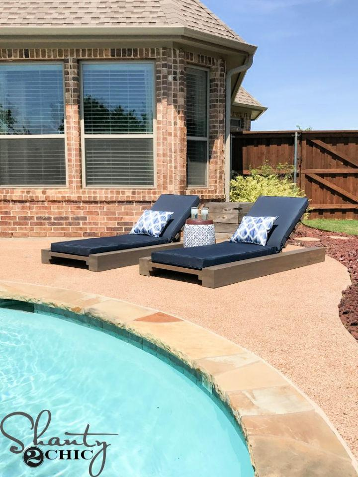 Outdoor Lounge Chair Plan