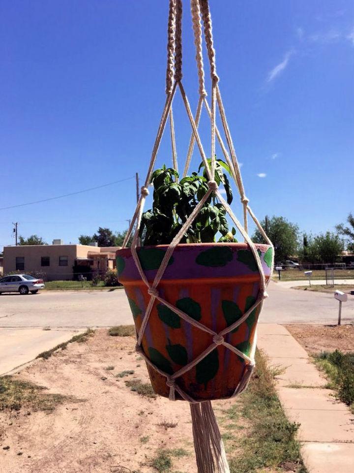 Outdoor Macrame Plant Hanger