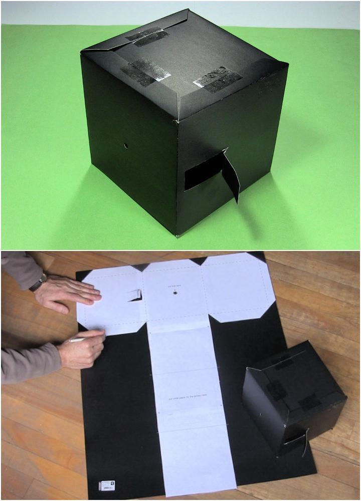 Pinhole Camera Using a Poster Board