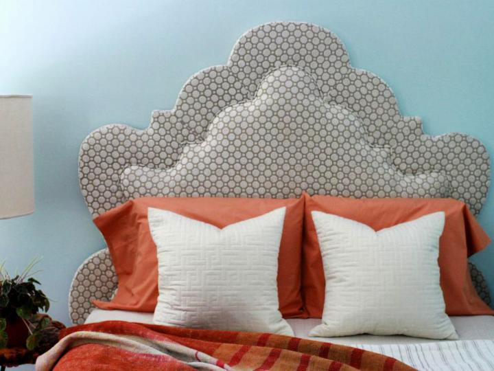 Two Dimensional Upholstered Headboard