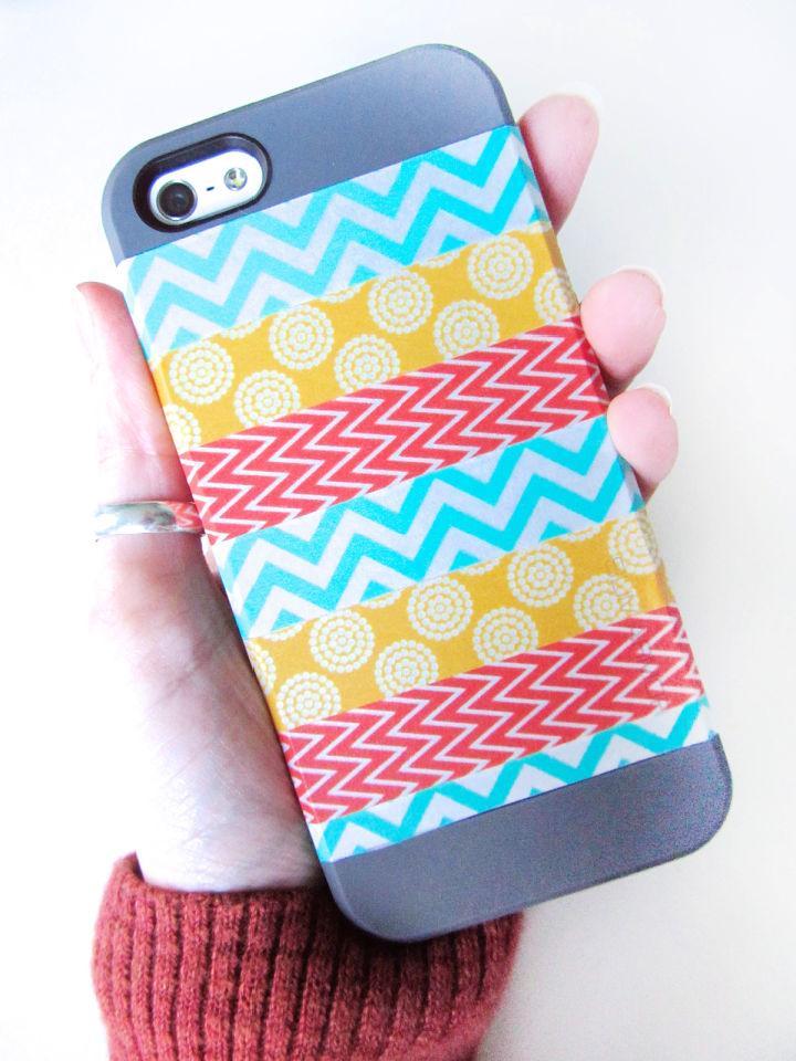 Washi Tape Phone Case
