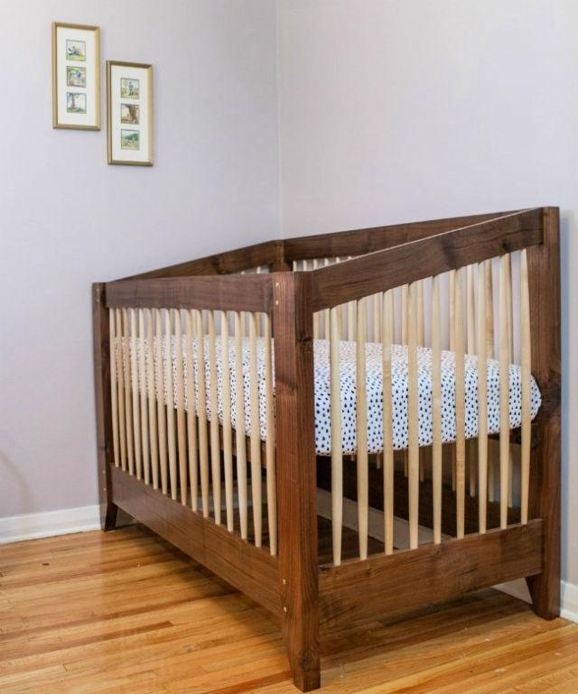 Building An Adjustable Height Baby Crib