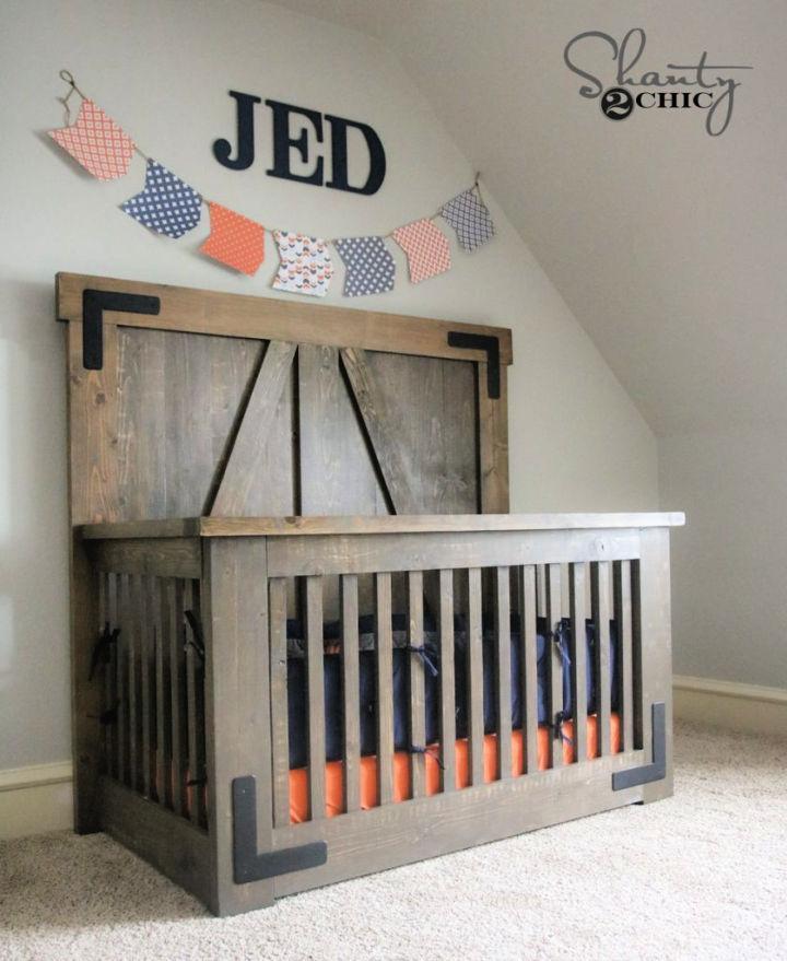 Farmhouse Baby Crib