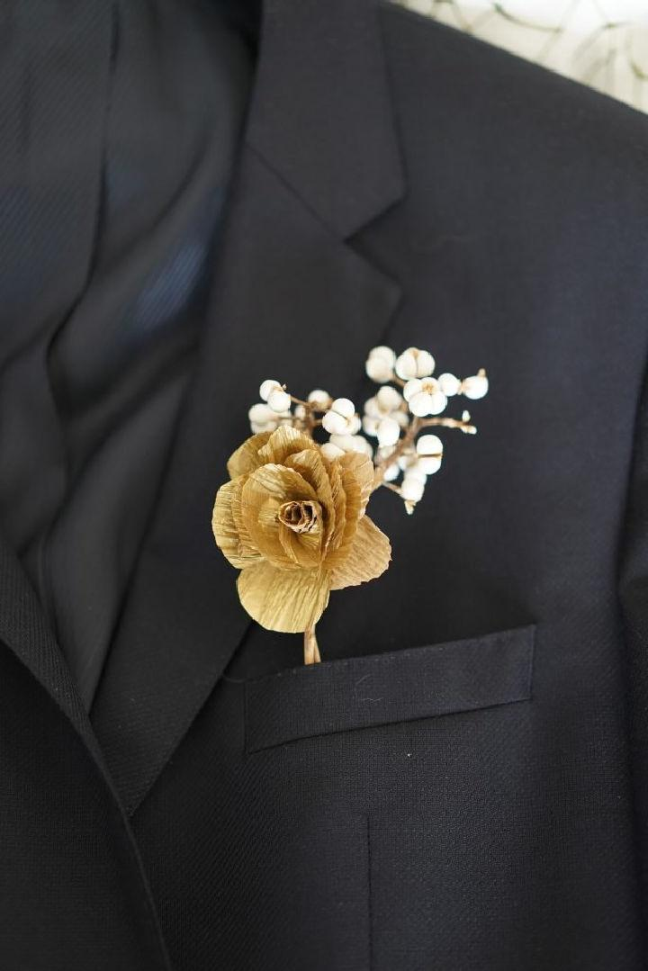 Make Your Own Boutonniere