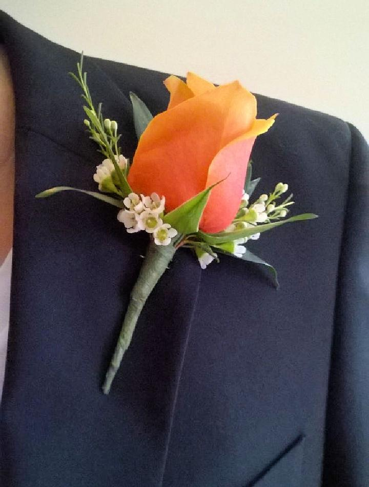Make a Flower Boutonniere