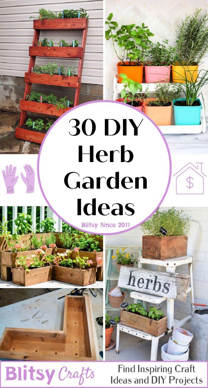 30 Best DIY Herb Garden Ideas