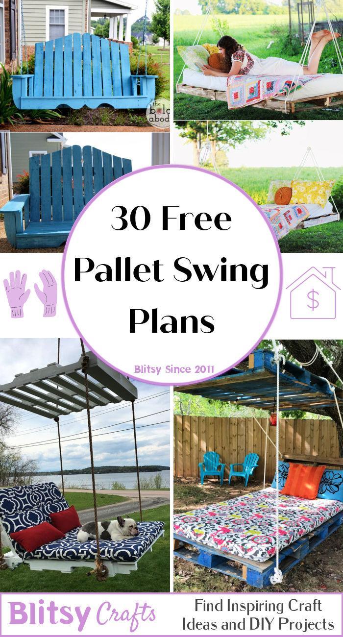 30 Free Pallet Swing Plans
