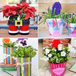 40 diy flower pot ideas to display plants