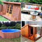 40 easy pallet projects with free detailed constructions