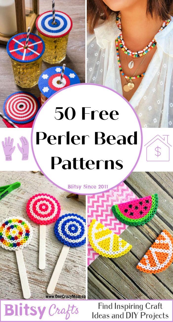 50 Free Perler Bead Patterns