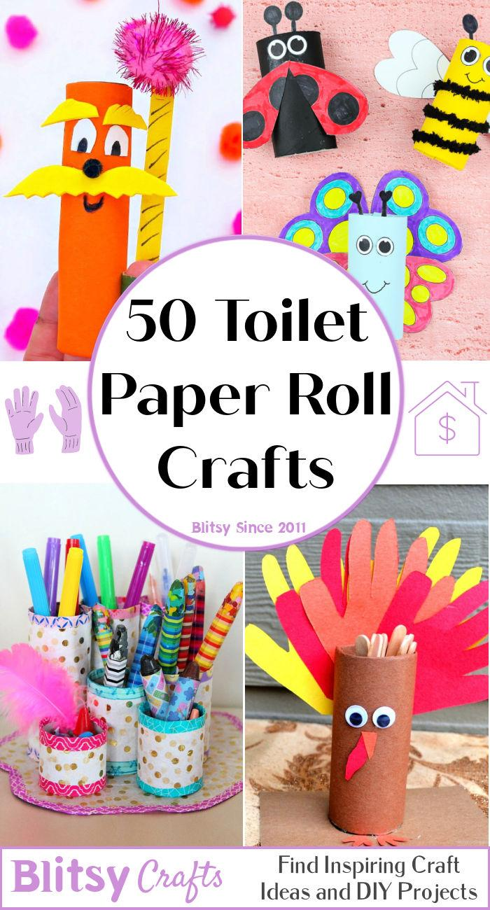 50 Toilet Paper Roll Crafts