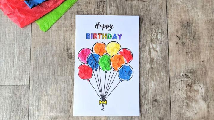 Birthday Card For Toddlers To Make