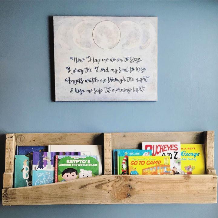 Bookshelf Out Of A Pallet