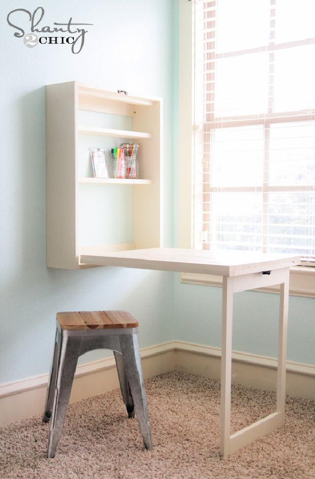 Build A Murphy Desk