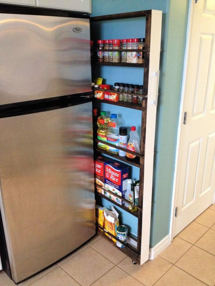 Build Your Own Slide Out Pantry