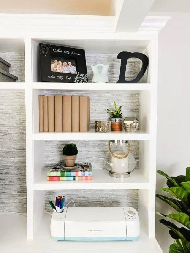 Built ins Using Big Box Store Cabinets