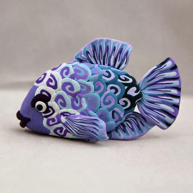Cool Fish To Make Out Of Clay