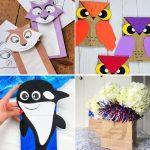 Cool Paper Bag Crafts