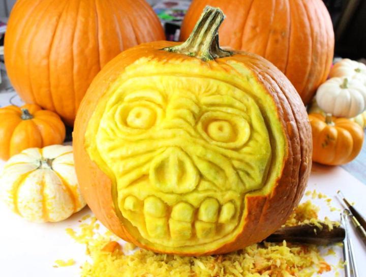 Creative Pumpkin Carving