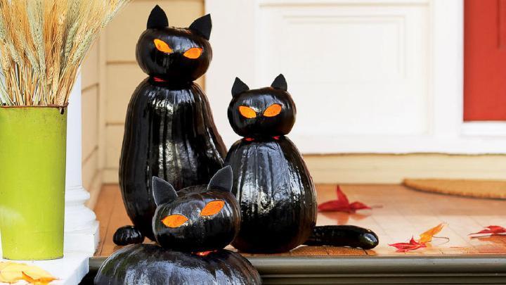 DIY Black Cat OLanterns