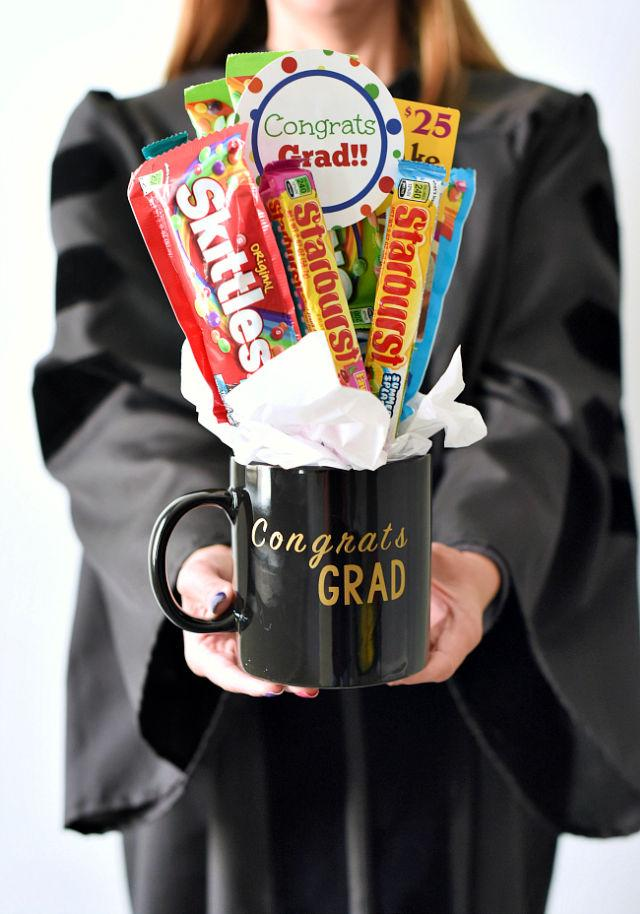 DIY Candy Bouquet for 6th Grade