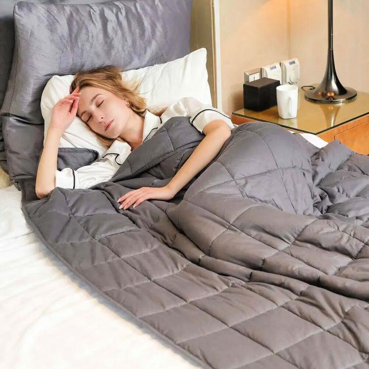DIY Gravity Weighted Blanket