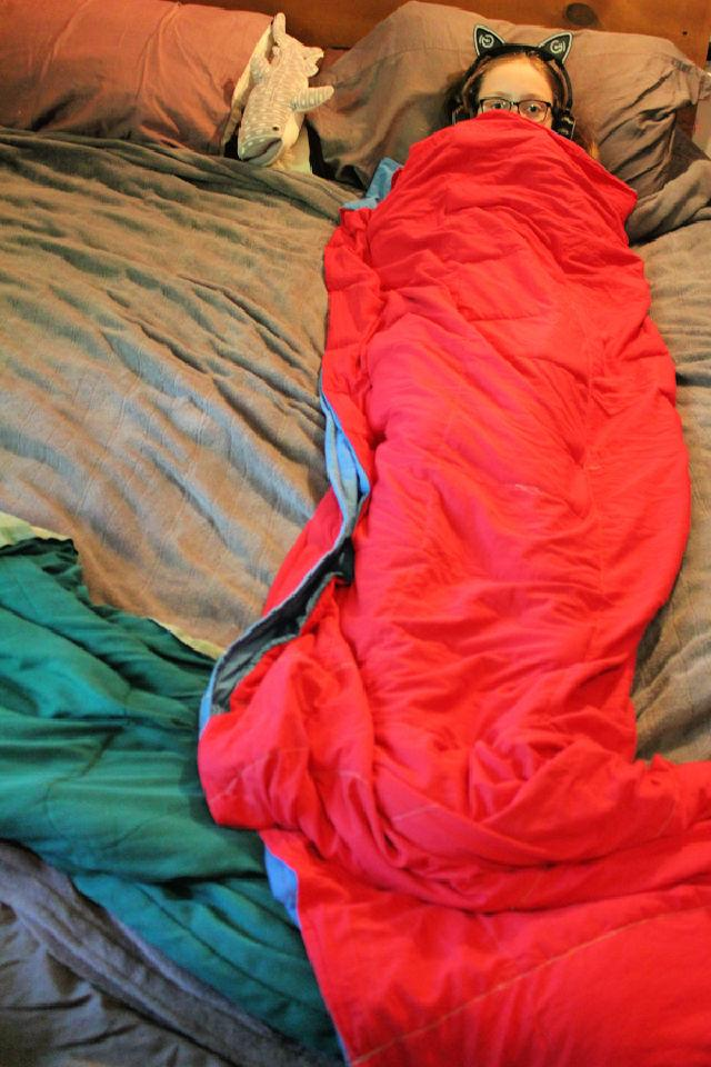 DIY Large Weighted Blanket