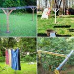 15 Durable and Cheap DIY Clothesline Ideas To Make